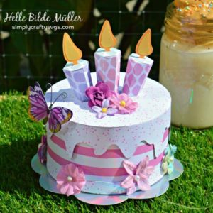 Birthday Cakes by Helle