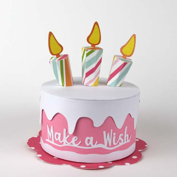 Birthday Cake SVG File