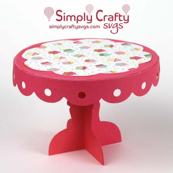 FREE Cupcake Stand SVG File