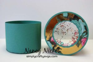 Round Candy Box by Nancy