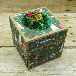 Christmas Explosion Box by Leslie