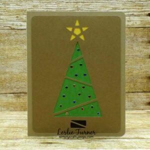 Christmas Tree Card Set by Leslie