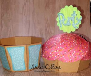 Party Cupcake by Annie
