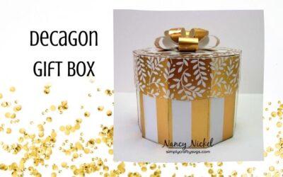 Decagon Gift Box by Nancy