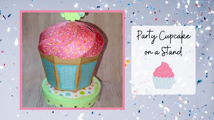 Party Cupcake on a Stand by Annie