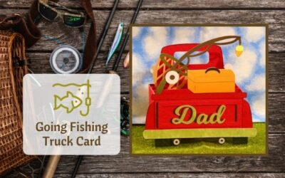Fishing Truck Card by Jana