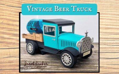 Vintage Beer Truck by Janet