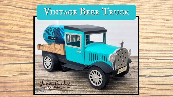 Vintage Beer Truck by Janet