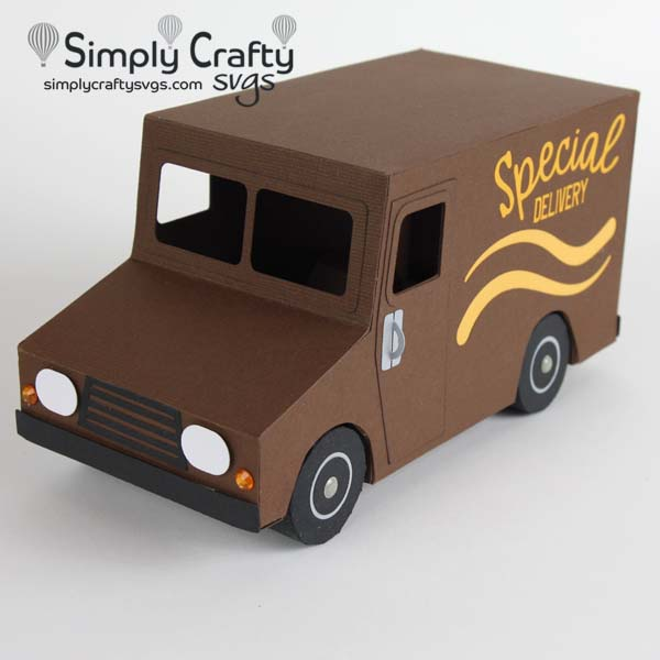 Delivery Truck SVG file
