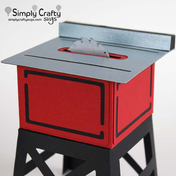 Table Saw Box SVG File