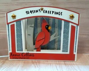 Cardinal Card by Annie