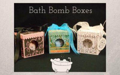 Bath Bomb Boxes by Jana