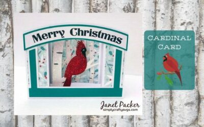 Cardinal Card by Janet