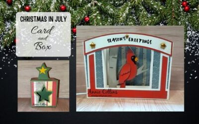 Christmas in July Card and Box by Annie