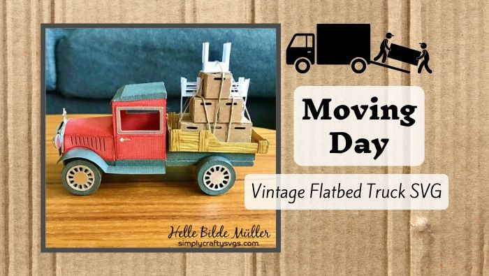 Moving Day by Helle (Flatbed Moving Truck)