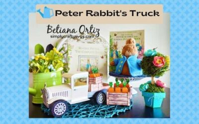 Peter Rabbit's Truck by Betiana and an overdue Design Team Intro