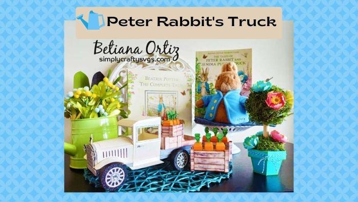 Peter Rabbit's Truck by Betiana