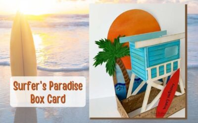Surfer's Paradise Card by Tina and Welcome to the Design Team