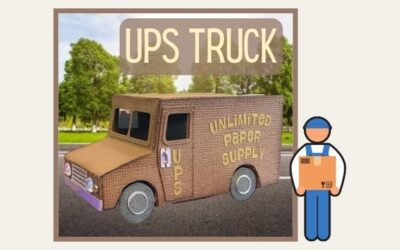 Another kind of UPS Truck by Helle