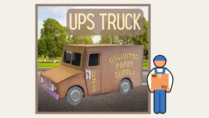 UPS Truck by Helle