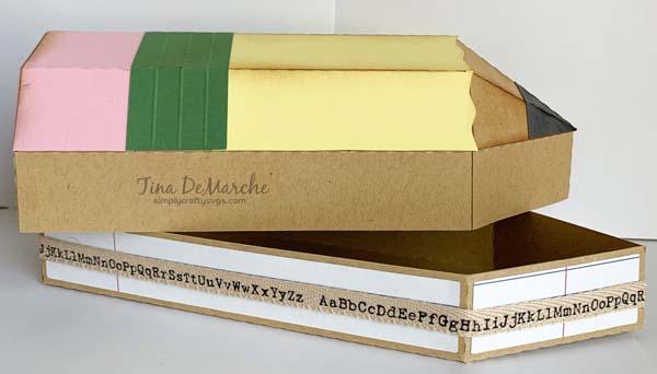 3D Pencil Box by Tina