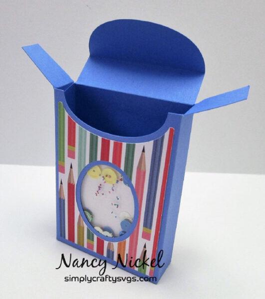 Shaker Crayon Box by Nancy