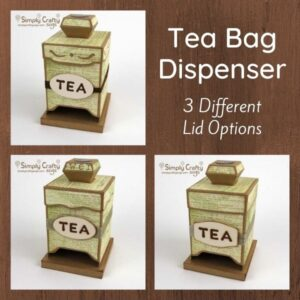 Tea Bag Dispenser SVG File