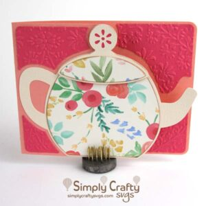 Teapot Card SVG FIle