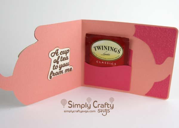 Teapot Card SVG FIle