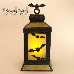 Bats Lantern SVG File