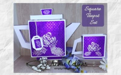 Square Teapot Set by Annie