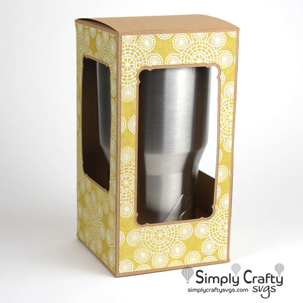 Large Tumbler Fliptop Box