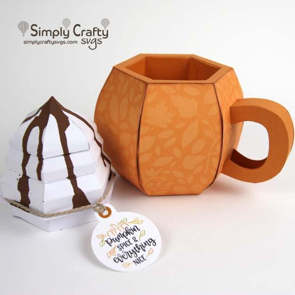 Pumpkin Mug SVG File