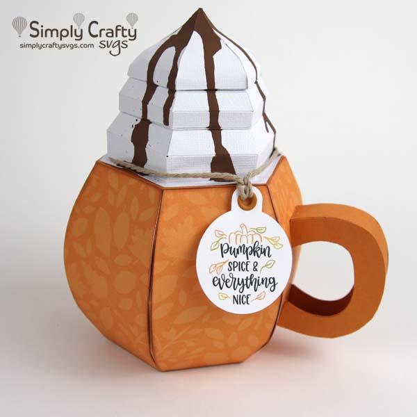 Pumpkin Spice Mug SVG File