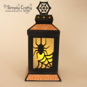 Spider Web Lantern SVG File