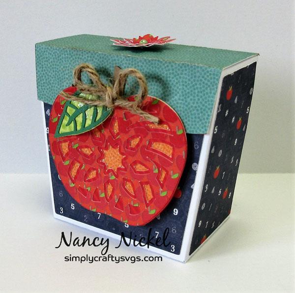 Apple Gift Box by Nancy