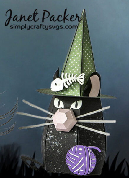 Cat gnome by Janet