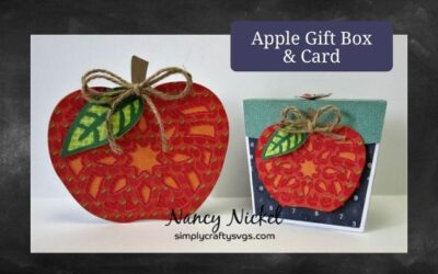 Apple Gift Box and Card by Nancy