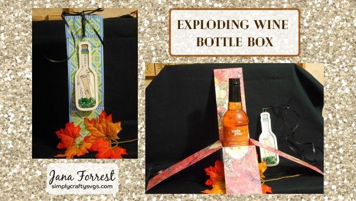 Exploding Wine Box By Jana
