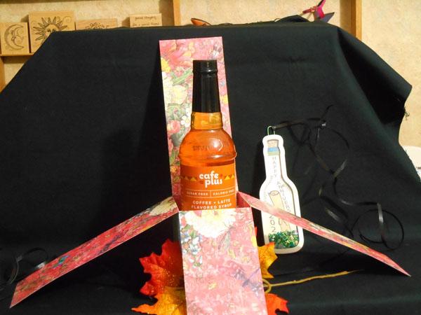 Exploding Wine Bottle Box by Jana