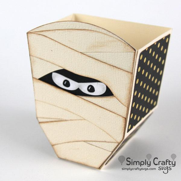 Mummy Treat Box SVG File