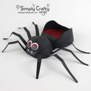 Spider Candy Box SVG File