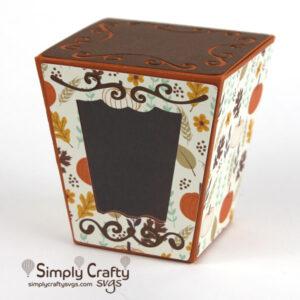 Flourish Gift Box SVG File