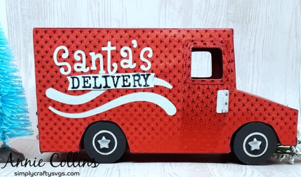 Santa's Delivery Truck by Annie
