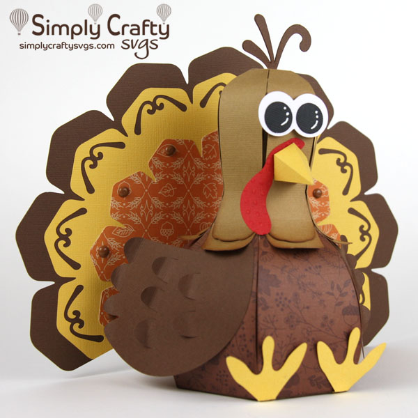 Turkey Tom SVG File