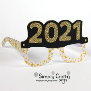 2021 Glasses SVG File