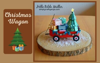 Christmas Wagon by Helle