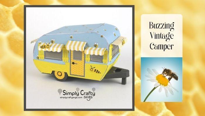 Buzzing Vintage Camper