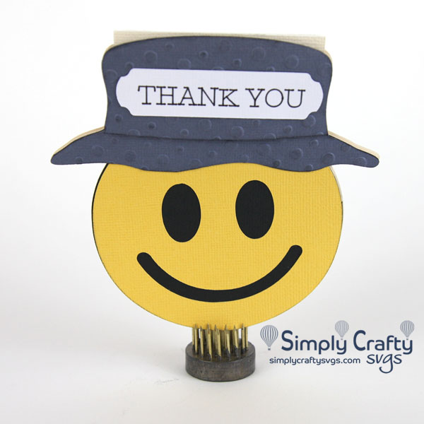 Happy Camper Thank you Card
