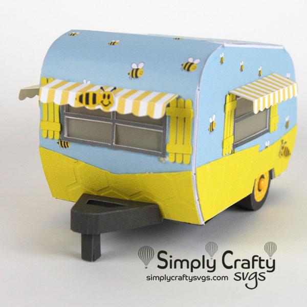 Bee Vintage Camper